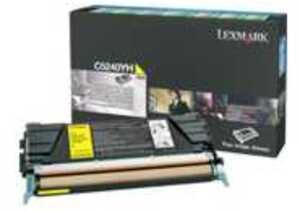 Lexmark Toner Prebate, yellow C5240YH