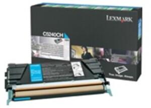 Lexmark Toner Prebate, cyan C5240CH