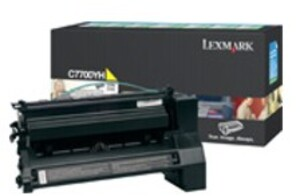 Lexmark LEXMARK Toner-Modul HY return yellow IBC7700YH