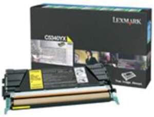 Lexmark Toner Prebate, yellow C5340YX