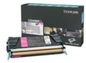 Lexmark Toner Prebate, magenta C5340MX