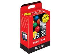 Lexmark Tinte Kombipack Nr.32+ Nr.33 80D2951