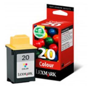Lexmark Tintenpatrone 20 HY color 15MX120E