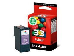 Lexmark INK CARTRIDGE COLOR NO33 18CX033E