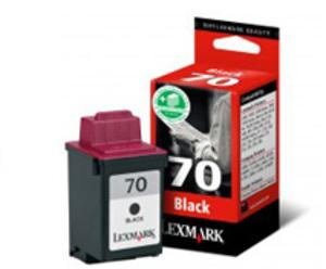 Lexmark Tintenpatrone 70 HY schwarz 12AX970E