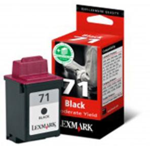 71 Tintenpatrone schwarz kleine Kapazität 8ml 225 Seiten 1er-Pack 15MX971E
