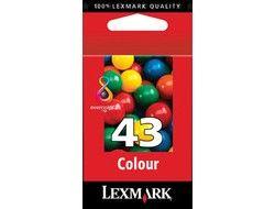 Lexmark Tintenpatrone 43 HY color IB18YX143E