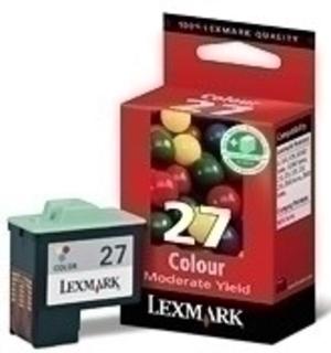 Lexmark Tintenpatrone 27 HY color 10NX227E
