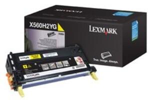 Lexmark Toner-Modul HY yellow X560H2YG