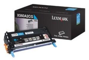 Lexmark Toner-Modul cyan X560A2CG