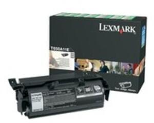 Lexmark Toner-Modul return schwarz T650A11E