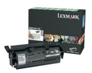 Lexmark Toner-Modul HY return schwarz X651H11E