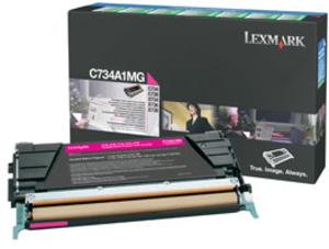Lexmark Toner-Modul return magenta C734A1MG