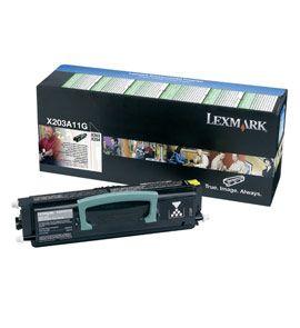 Lexmark Toner-Modul return schwarz X203A11G