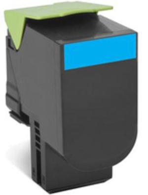 Lexmark Toner-Modul return cyan 80C2SC0