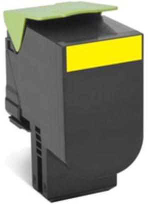 Lexmark Toner-Modul return HY yellow 80C2HY0