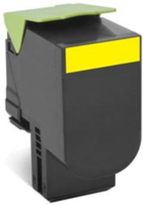 Lexmark Toner-Modul return EHY yellow 80C2XY0