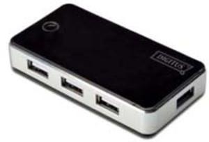 DIGITUS USB 2.0 7-Port Hub, schwarz DA70222A1