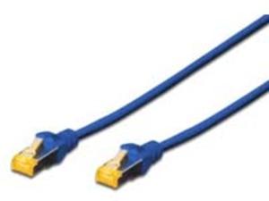 DIGITUS CAT 6A S/FTP Patchk.,10m,blau DK1644A100B