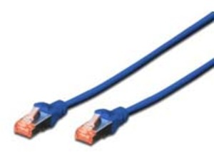 DIGITUS CAT6 S-FTP Patchk.,3m, Blau DK1644030B10