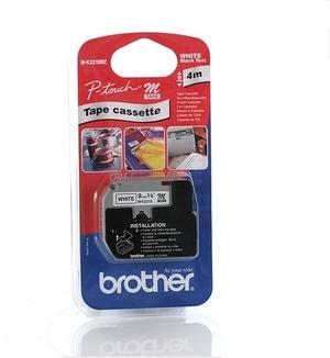 Brother PTOUCH Band, nicht lam. schwarz/weiss MK221S