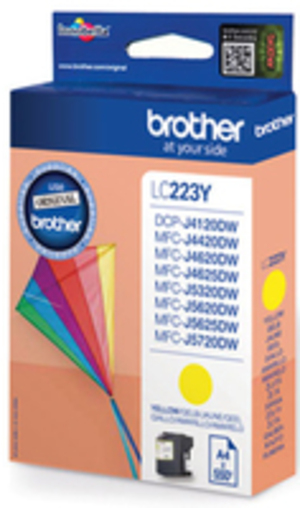 Brother LC-223Y YELLOW INK CARTRIDGE LC223Y