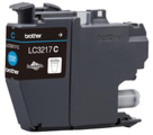 Brother LC-3217C Tinte Cyan (550 seiten) LC3217C