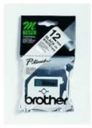 Brother PTOUCH Band,nicht lam. schwarz/weiss MK-231SBZ