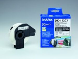 Brother PTOUCH Ordner-Etiketten 17x87mm DK11203