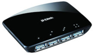 D-Link 4-PORT USB 3.0 HUB 4X A-PORT DUB-1340E
