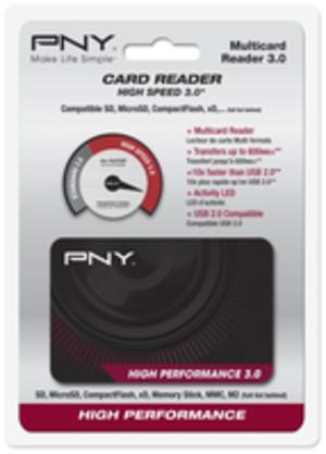 PNYTechnologies FLASH CARD READER HIGH PERF FLASHREAD-HIGPER-BX
