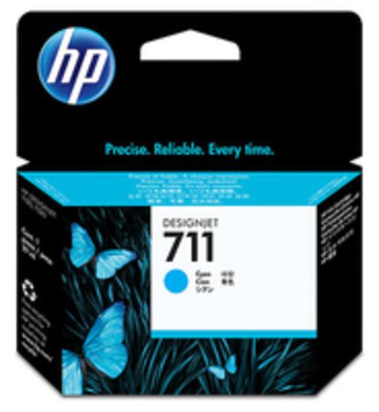 HP 711 29-ml Cyan Ink Cartridge CZ130A