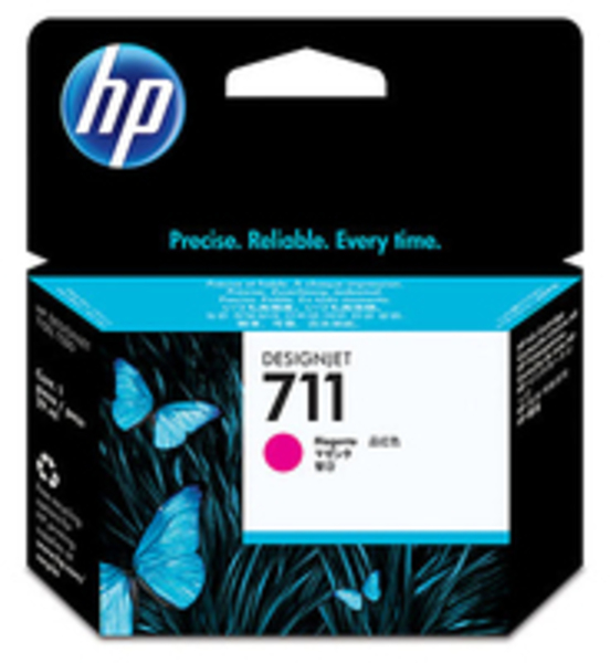 HP 711 29-ml Magenta Ink Cartridge CZ131A