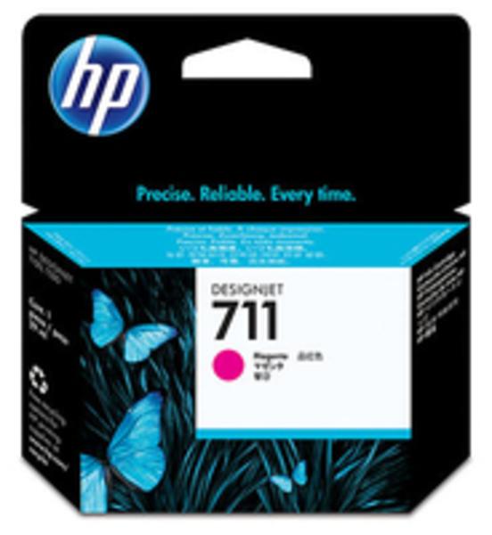 HP 711 29-ml Magenta Ink Cartridge CZ131A