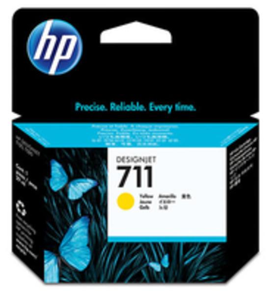 HP Ink Cart/711 29-ml Yellow CZ132A