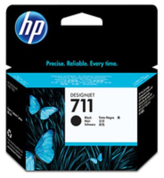 HP 711 80-ml Black Ink Cartridge CZ133A