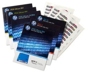 HP LTO-6 Ultrium RW Bar Code Label Pack Q2013A