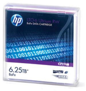 HP LTO-6 Ultrium 6.25TB BaFe RW Data Crt C7976B