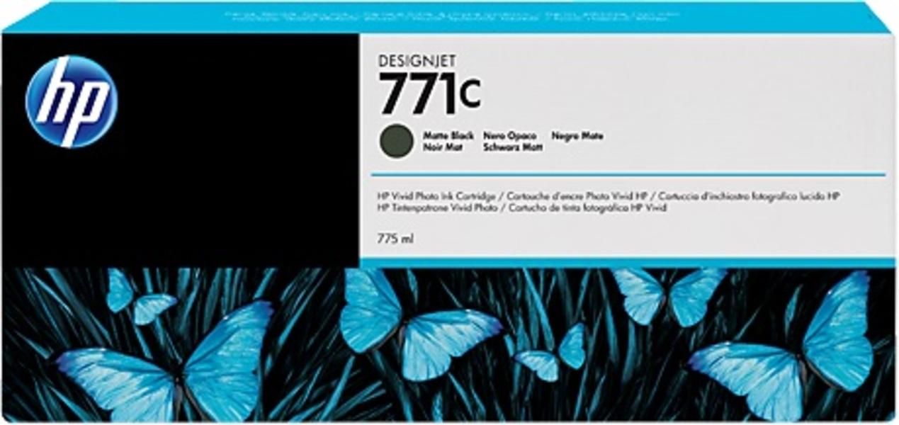 HP Tintenpatrone 771C matte black B6Y07A
