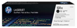 131X Original Tonerkartusche schwarz hohe Kapazität 2 x 2.400 Seiten 2er-Pack CF210XD