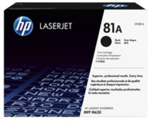 HP Toner/81A Black LaserJet TonerCart CF281A