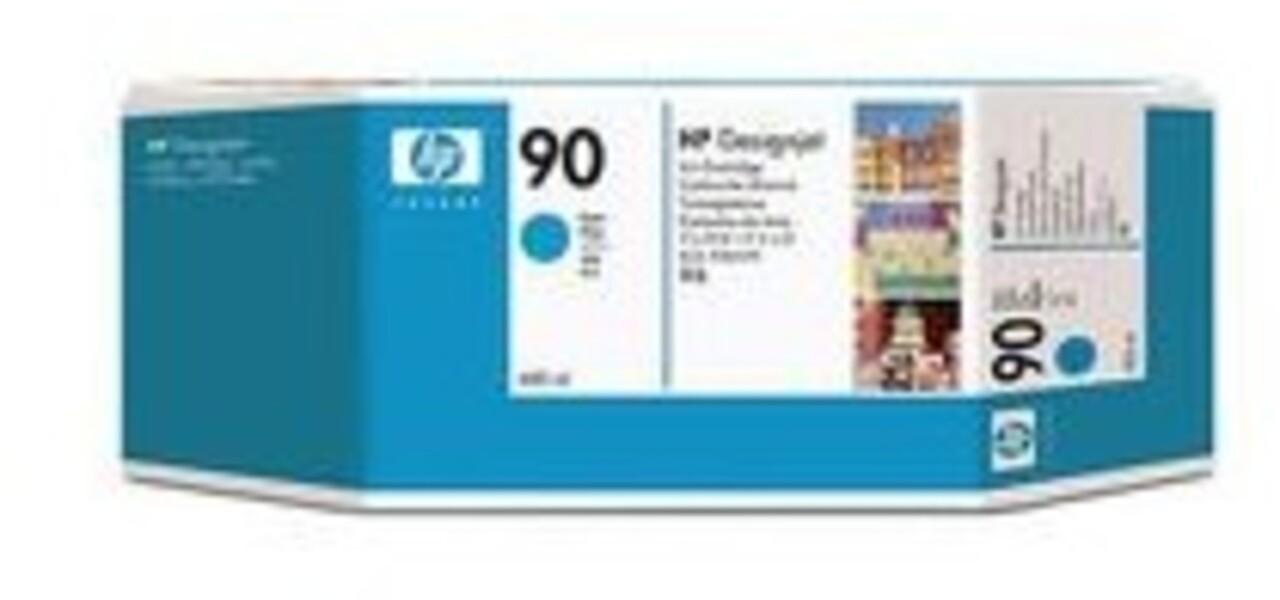 HP Ink Cartridge, 90, cyan C5061A