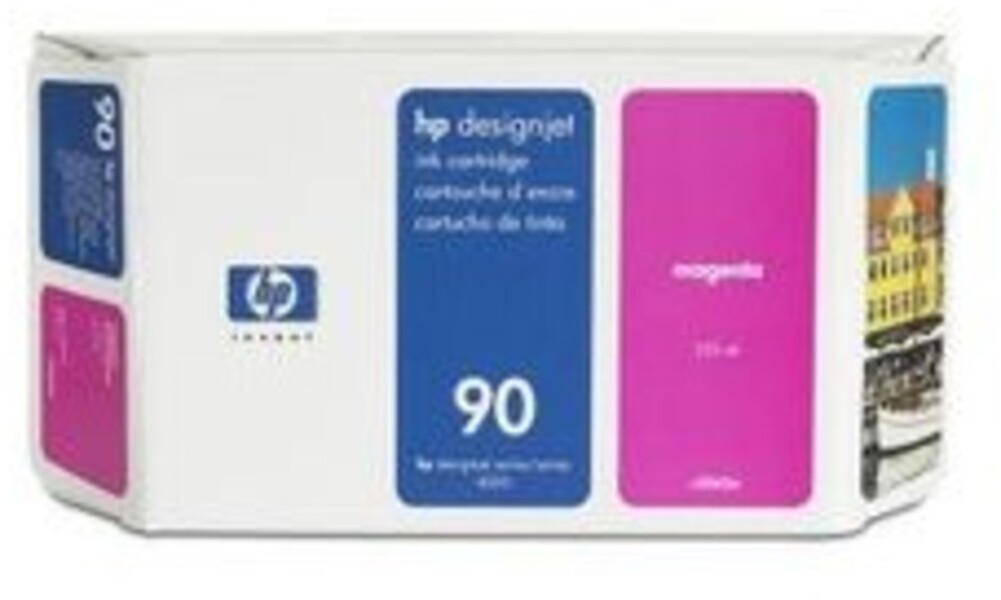 HP Ink Cartridge, 90, magenta C5062A