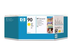 HP HP Ink Cartridge, 90, yellow C5064A