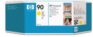 HP Ink Cartridge, 90, yellow C5065A