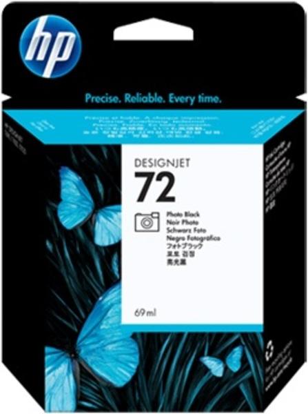 HP HP Ink Cartr., 72, black photo HPC9397A