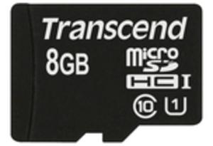 Transcend 8GB MICROSDHC CLASS 10 UHS-I TS8GUSDU1