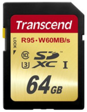 Transcend 64GB SDXC UHS-I U3 TS64GSDU3