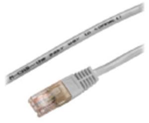 M-CAB CAT5e-SF/UTP-PVC-1.00M-GRY 3113