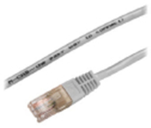 M-CAB CAT5e-U/UTP-PVC-10.0M-GRY 3128